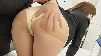 Japanese Secretary Fucked by her Boss [Uncensored]